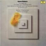 独DEUTSCHE GRAMMOPHON 2531 146 カラヤン指揮ベルリン・フィル ウェーベルン:パッサカリア、6つの管弦楽の小品、シンフォニー